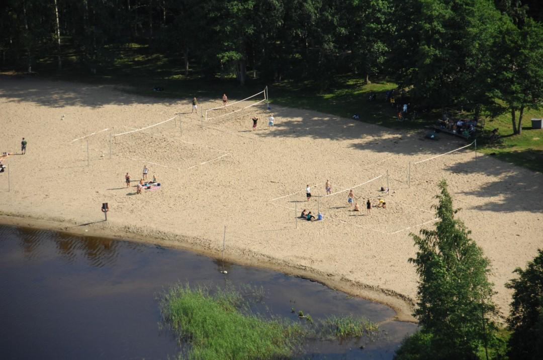 Beach volley -kentät