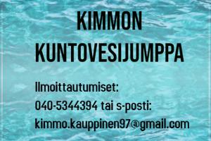 Lue lisää aiheesta Kimmon Kuntovesijumppa